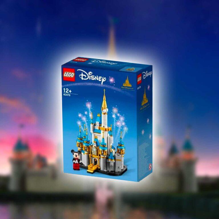 LEGO 40478 mini Disney Kasteel Disney Castle